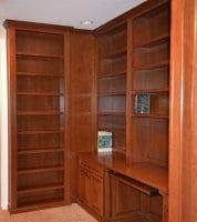 Custom bookcase in Library