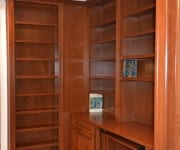 Custom bookcase in Library